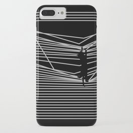 Cats and Curtains iPhone Case