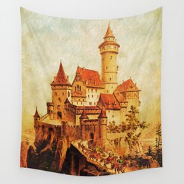 Castle Wall Tapestry