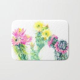Cacti Succulents, Desert design Arizona Cacti Southwestern Art Bath Mat