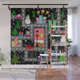 christmas night Wall Mural