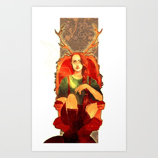 Jehan2 Art Print