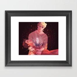 apollo and hyacinthus Framed Art Print
