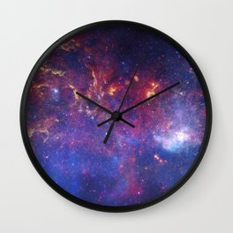 the milky hand of the spiral | space #10 Wall Clock