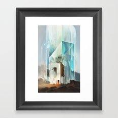 The Crystal-Flesh Hermitage Framed Art Print