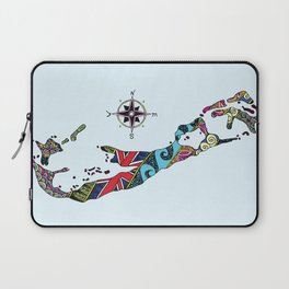 Bermuda Map Laptop Sleeve