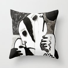 The Divided Throw Pillow