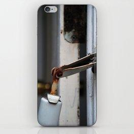 hinge bird iPhone Skin