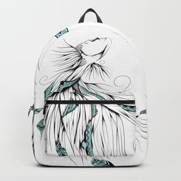Poetic Betta Fish Backpack