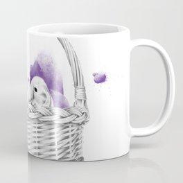 Basket Bunnies Coffee Mug