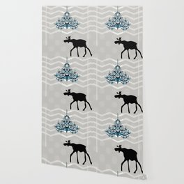 A Moose finds home Wallpaper