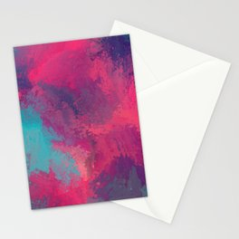 """And STILL I Persevere Through The Storms"" Abstract Design Stationery Cards"