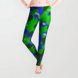 Abstract organic pattern 8 Leggings