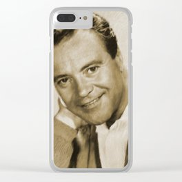 Jack Lemmon Clear iPhone Case