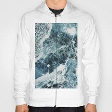 Blue Sea Marble Hoody