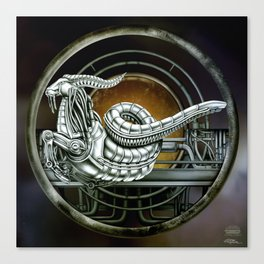 """Astrological Mechanism - Capricornus"" Canvas Print"