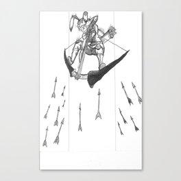 S1: The Rabbit! Canvas Print