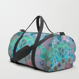 Onion cell hexagons Duffle Bag