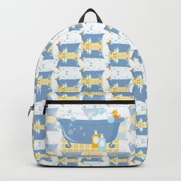 Bubble Bath Tub Backpack