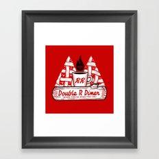 Heaven for Pies Framed Art Print