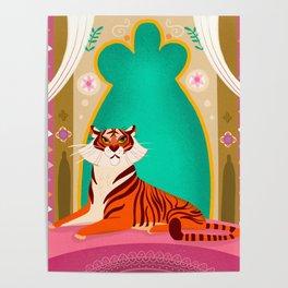 Moroccan Tiger Poster
