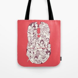 Adulthood Mash-Up Tote Bag