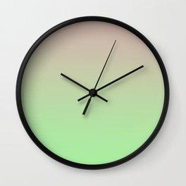 STATIC LIFE - Minimal Plain Soft Mood Color Blend Prints Wall Clock
