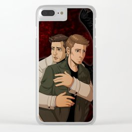Through It All Clear iPhone Case