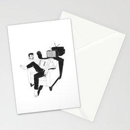 Daily dilemma Stationery Cards