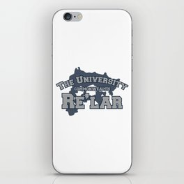 The University: Re'lar - The Name of the Wind iPhone Skin