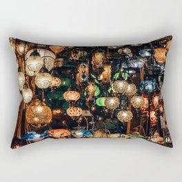 Lanterns at Grand Bazaar Istanbul Rectangular Pillow