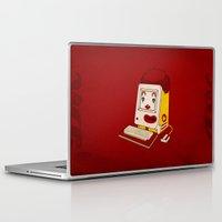 "mac Laptop & iPad Skins featuring ""MAC"" Donalds by Chris Dk"