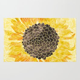 Sunflower Yellow Rug