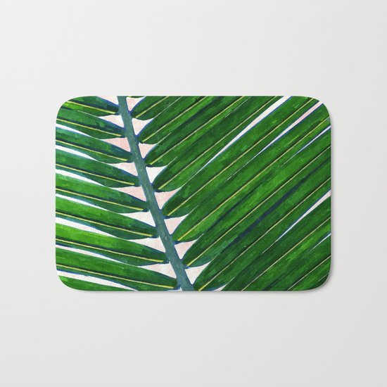 Foliage V3 #society6 3decor #buyart #lifestyle Bath Mat