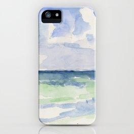 Ocean, Tulum, Mexico iPhone Case