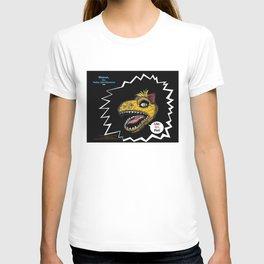 """SHMUT, The Valley-Girl Dinosaur: sez """"Like, Grr, Man T-shirt"""