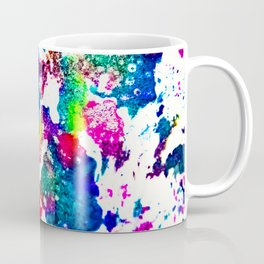 queer radiation —abstract art » modern print » trippy experimental Coffee Mug