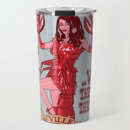 Lobster Girl Travel Mug