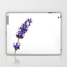 Mediterranean Lavender on White Laptop & iPad Skin
