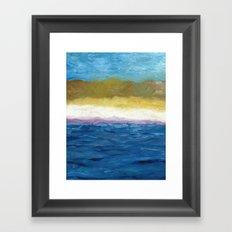 Abstract Dunes Framed Art Print