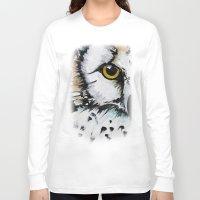 crown Long Sleeve T-shirts featuring Crown by Nicole Gaitan