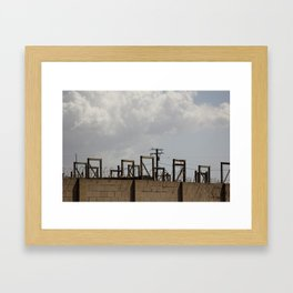 Not So Green Framed Art Print