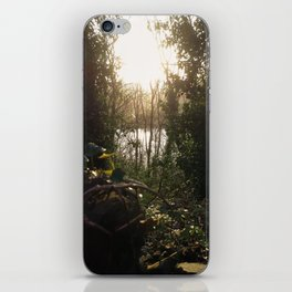 Hidden Keyhole iPhone Skin