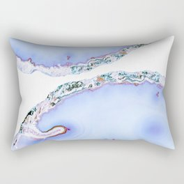 Iridescent agate Rectangular Pillow