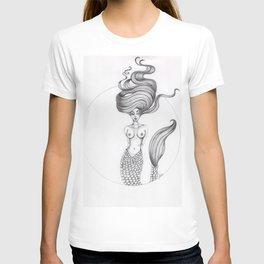 JennyMannoArt Graphite Drawing/Nezzie T-shirt