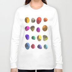 Painted Pebbles 2 Long Sleeve T-shirt