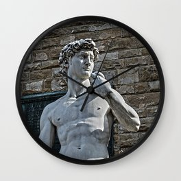 The Statue of David Wall Clock