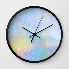 Holographic Iridescence Wall Clock
