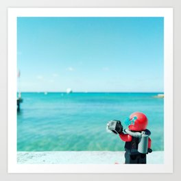 Welcome to the Caribbean Art Print