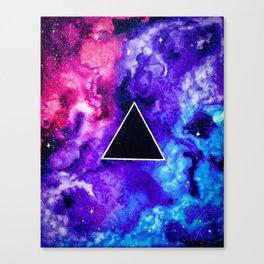Black Hole Trinity Canvas Print