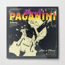 Paganini Metal Print